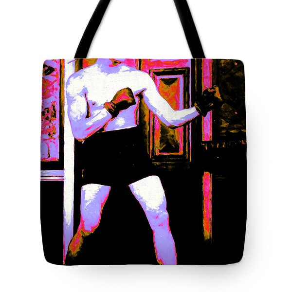The Boxer - 20130207 Tote Bag by Wingsdomain Art and Photography