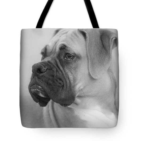 The Boxer Dog - The Gentleman Amongst Dogs Tote Bag by Christine Till