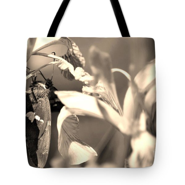 The Butterfly Tote Bag by Donna Greene