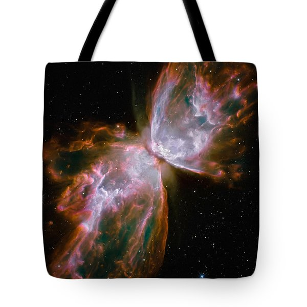 The Butterfly Nebula Tote Bag by Stocktrek Images