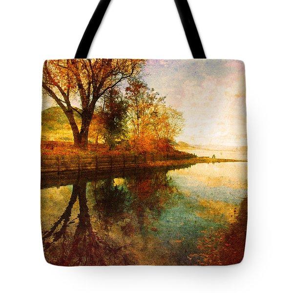 The Calm By The Creek Tote Bag by Tara Turner