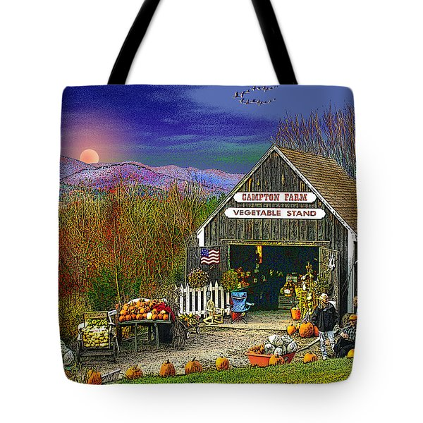 The Campton Farm Tote Bag by Nancy Griswold