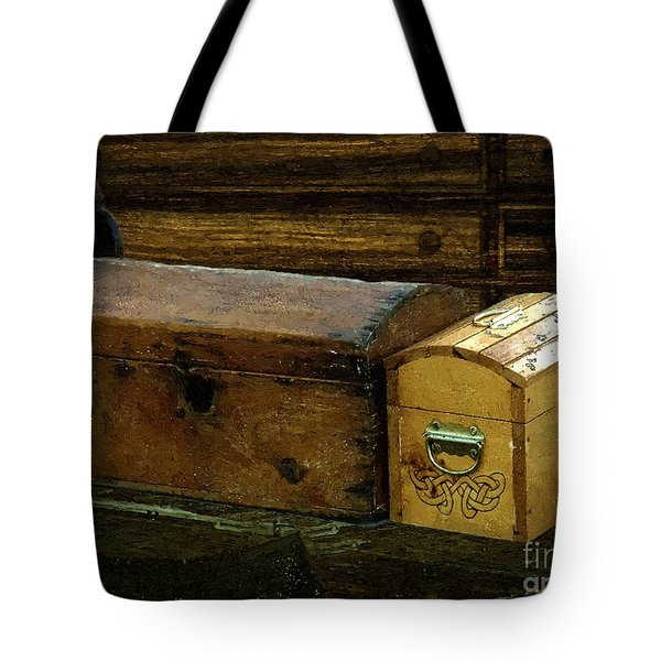 The Captain's Cabin Tote Bag by RC DeWinter