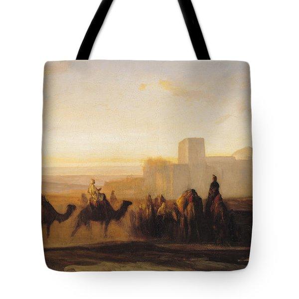 The Caravan Tote Bag by Alexandre Gabriel Decamps