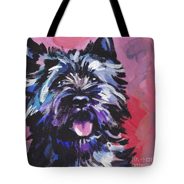 The Caring Cairn Tote Bag by Lea