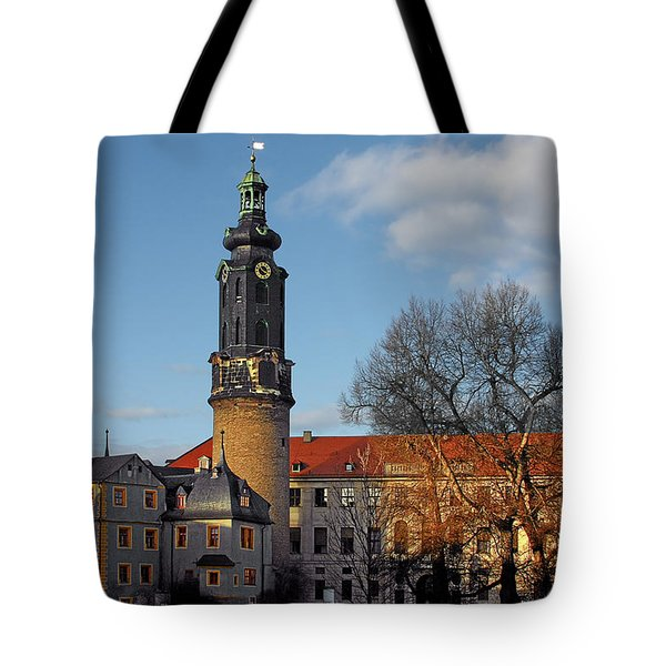 The Castle - Weimar - Thuringia - Germany Tote Bag by Christine Till