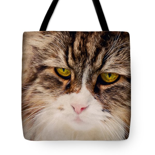 The Cat Tote Bag by Angela Doelling AD DESIGN Photo and PhotoArt