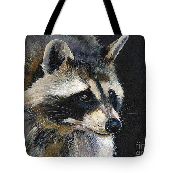 The Cat Food Bandit Tote Bag by J W Baker
