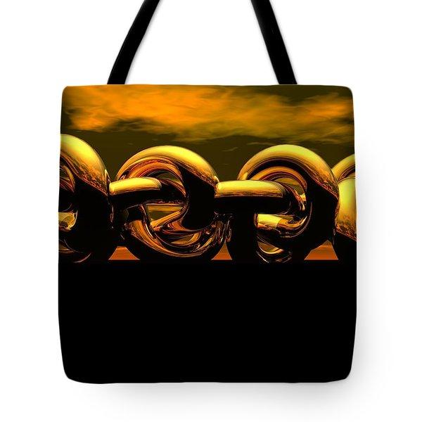 The Chain Tote Bag by Robert Orinski