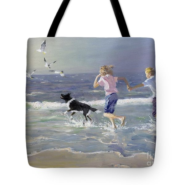 The Chase Tote Bag by William Ireland