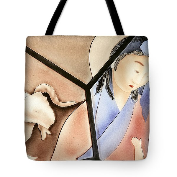 The Chinese Jesus Tote Bag by Christine Till