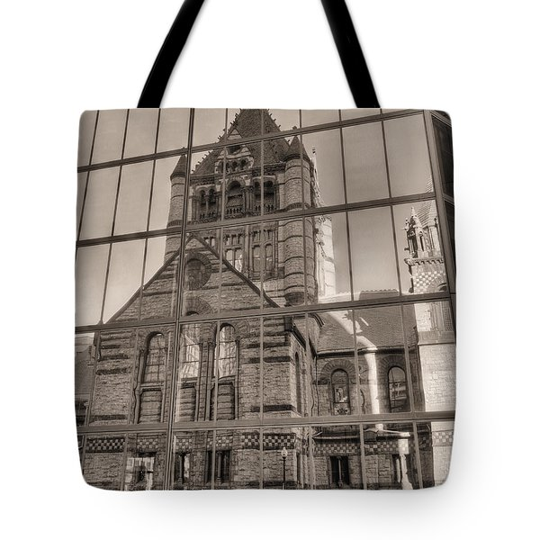 The Church Tote Bag by JC Findley