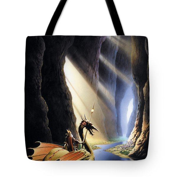 The Citadel Tote Bag by The Dragon Chronicles - Steve Re
