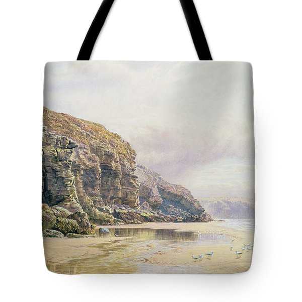 The Coast Of Cornwall  Tote Bag by John Mogford