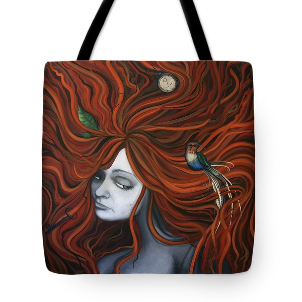 The Collector Tote Bag by Kelly Jade King