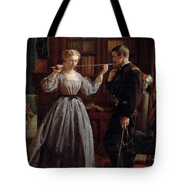 The Consecration Tote Bag by George Cochran