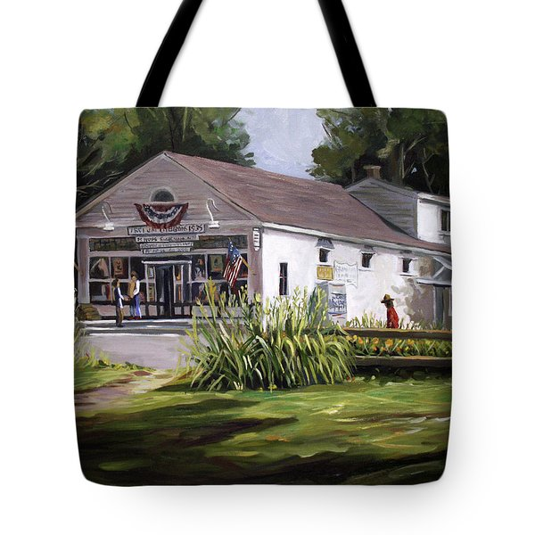 The Country Store Tote Bag by Nancy Griswold