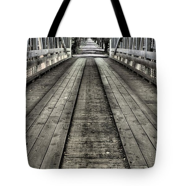 The Covered Bridge Tote Bag by JC Findley