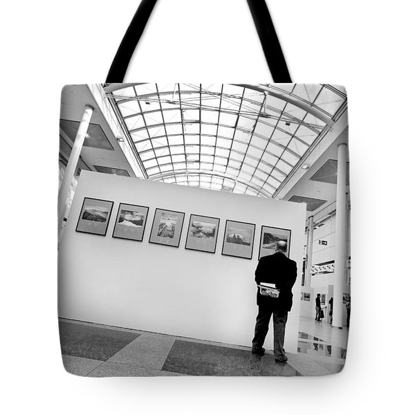 The Critic Tote Bag by Robert Lacy