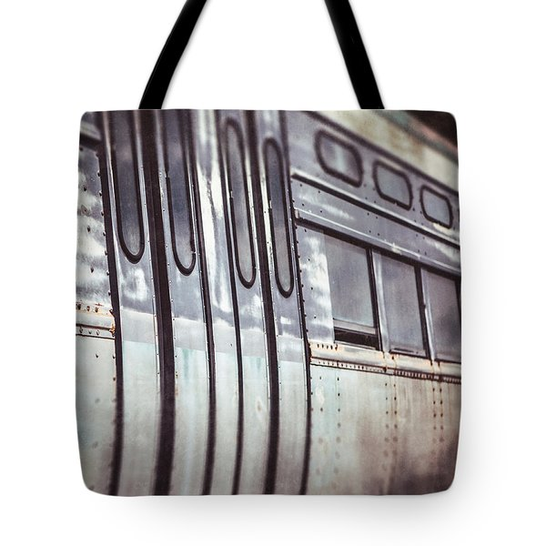 The Cta Train Tote Bag by Lisa Russo
