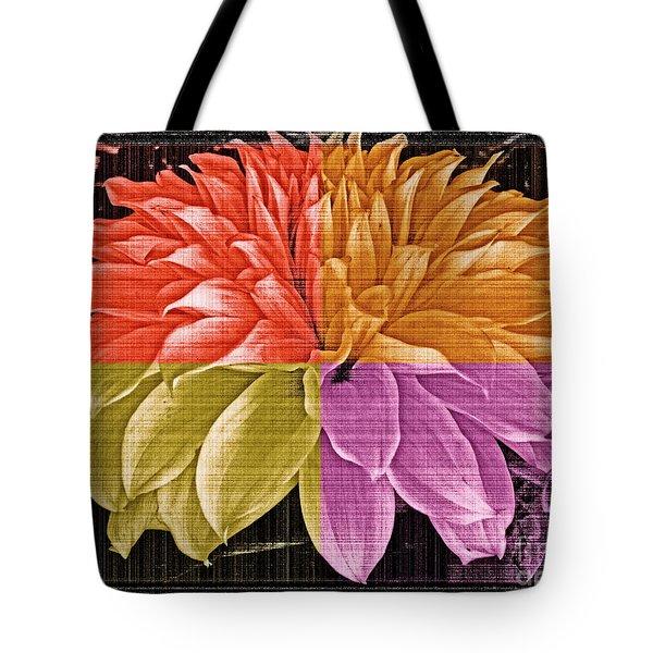 The Dahlia Tote Bag by Gwyn Newcombe