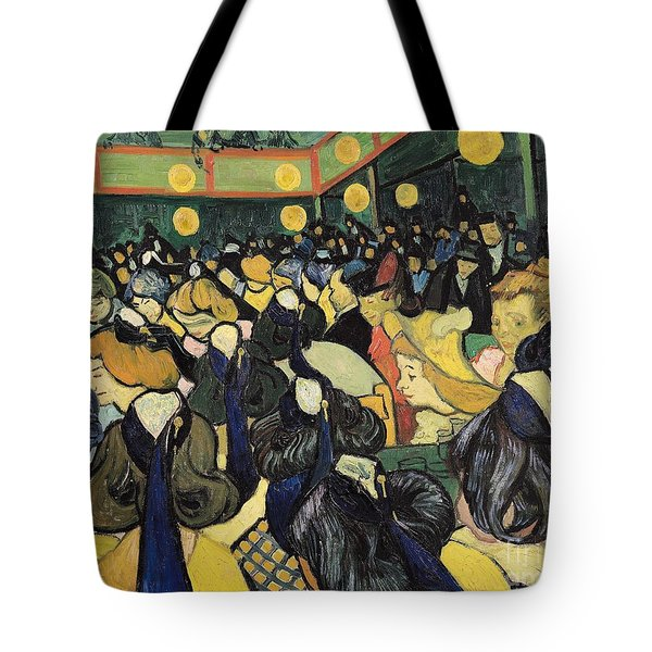 The Dance Hall At Arles Tote Bag by Vincent Van Gogh