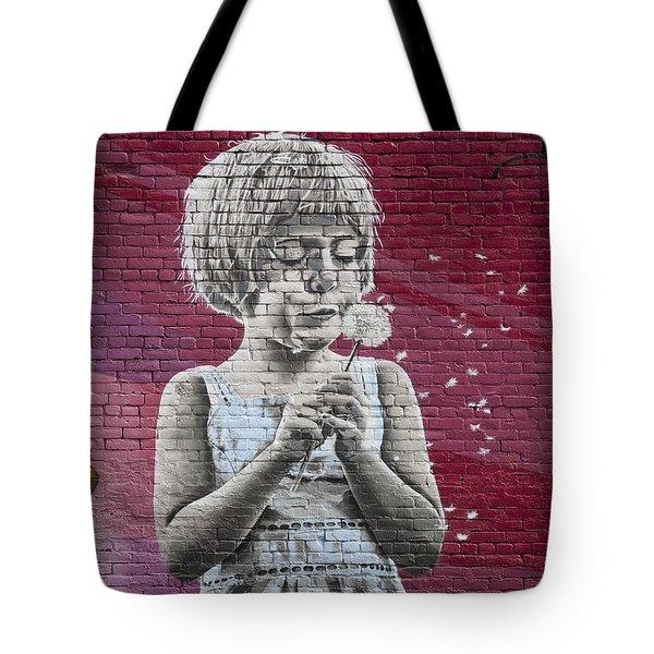 The Dandelion Tote Bag by Chris Dutton