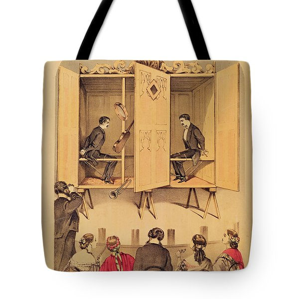 The Davenport Brothers Tote Bag by English School
