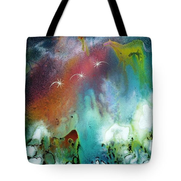 The Dawn Horse Tote Bag by Lee Pantas