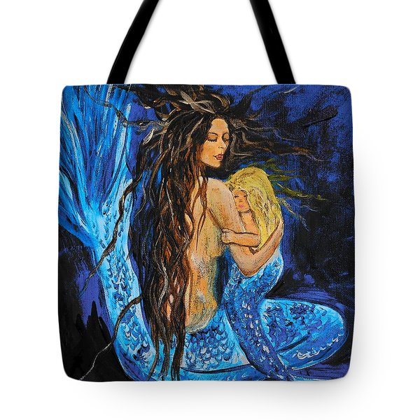 The Deepest Love Series 2 Tote Bag by Leslie Allen