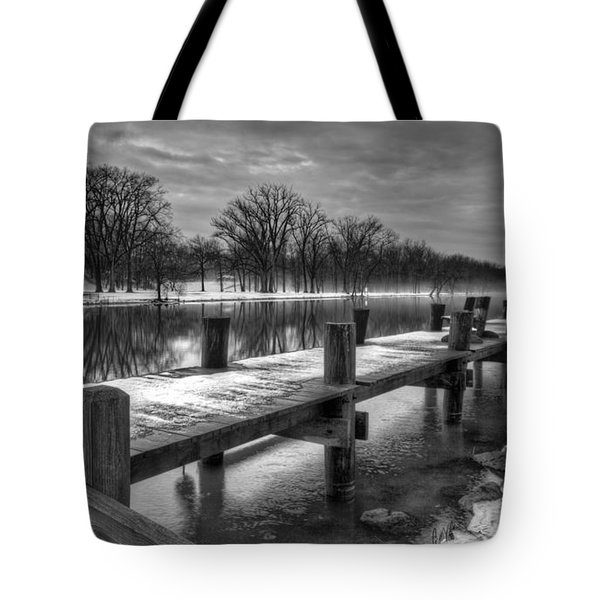 The Dock Tote Bag by Everet Regal