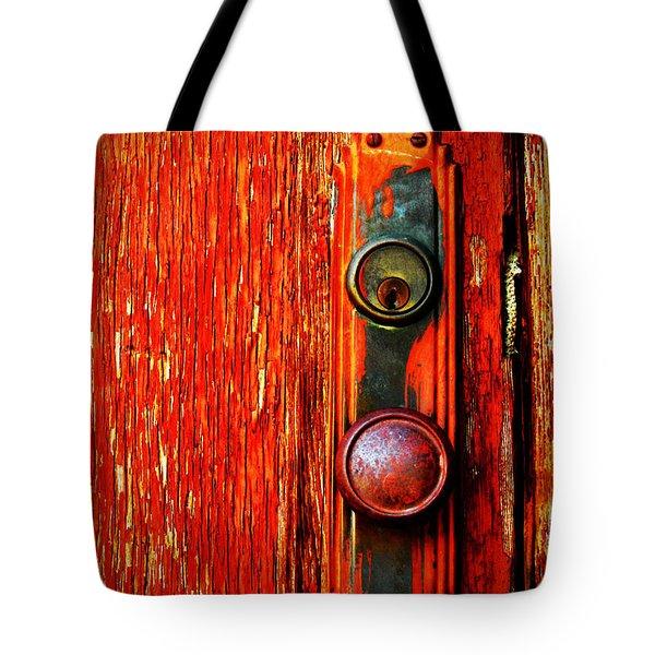 The Door Handle  Tote Bag by Tara Turner
