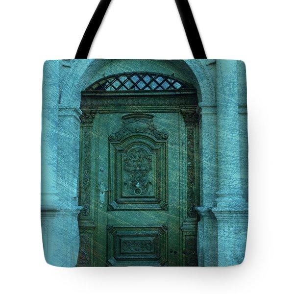 The Door to The Secret Tote Bag by Susanne Van Hulst