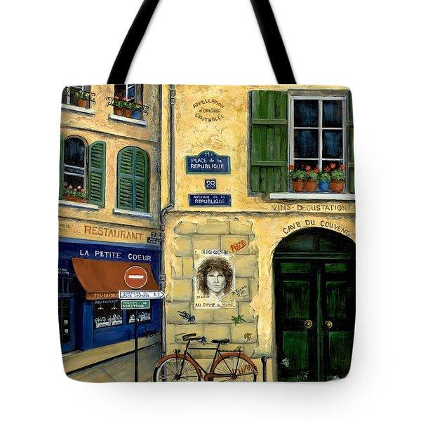 The Doors Tote Bag by Marilyn Dunlap