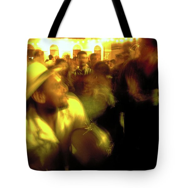 The Drummer Tote Bag by Michael Mogensen
