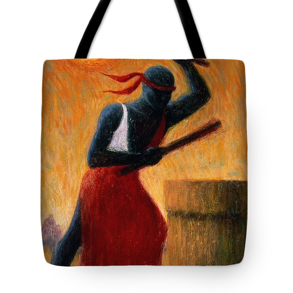 The Drummer Tote Bag by Tilly Willis