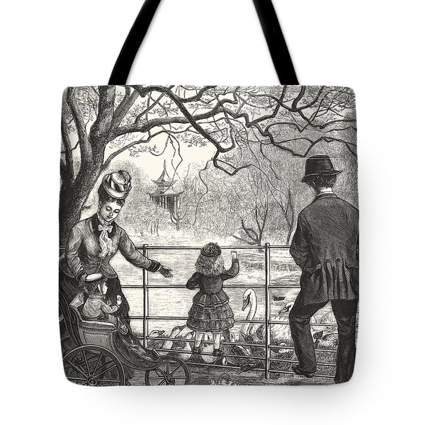 The Easter Holidays Tote Bag by Unknown