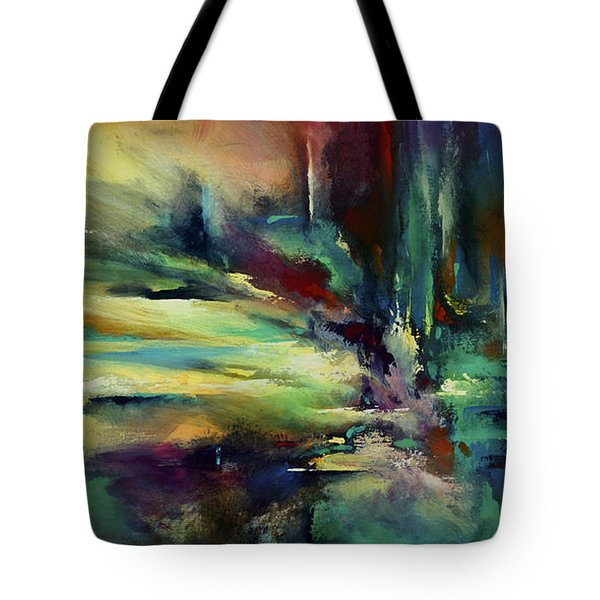 'the Edge' Tote Bag by Michael Lang