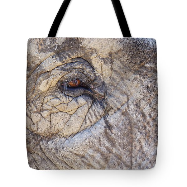 The Elephant Eye Tote Bag by Angela Doelling AD DESIGN Photo and PhotoArt