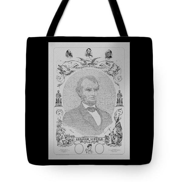 The Emancipation Proclamation Tote Bag by War Is Hell Store