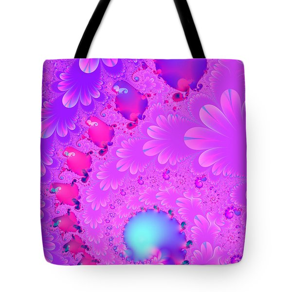 The Enchanted Forest . Version 2 . S8 Tote Bag by Wingsdomain Art and Photography