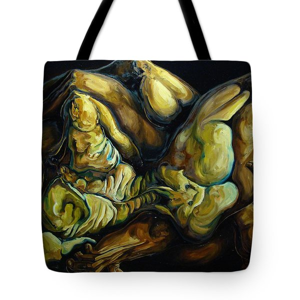 The Eternal Embrace Tote Bag by Darwin Leon