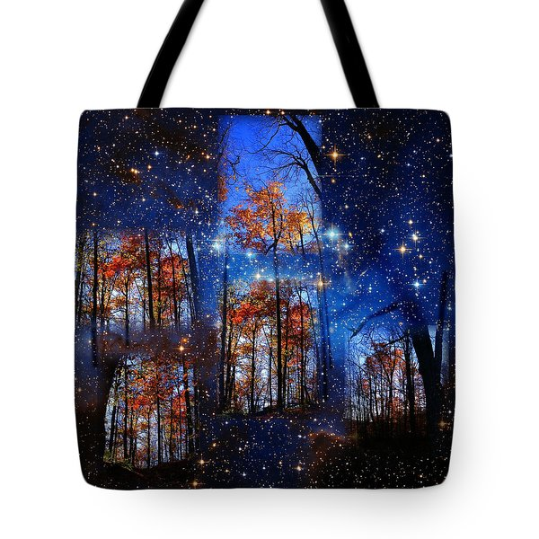 The Face Of Forever Tote Bag by Dave Martsolf