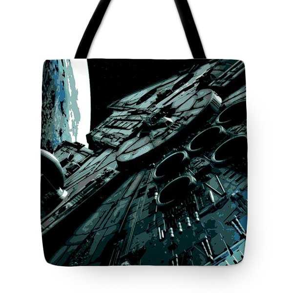 the Falcon Tote Bag by George Pedro