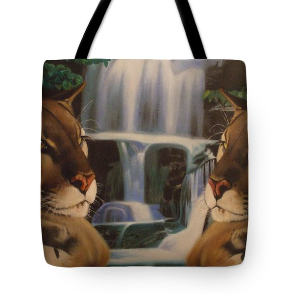 The Fall Of A Reflection  Tote Bag by Jamie Preston