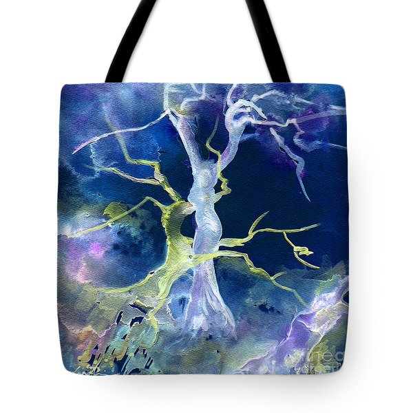 The Fall Of Sodom Tote Bag by Miki De Goodaboom