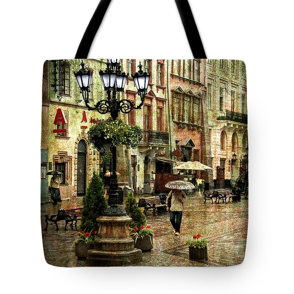The Fall of Spring Tote Bag by Evelina Kremsdorf