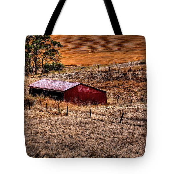The Farm Tote Bag by David Patterson