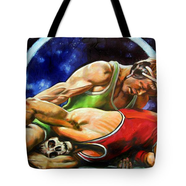 The Final Fight Tote Bag by John Lautermilch