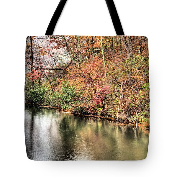 The Fishing Spot Tote Bag by JC Findley